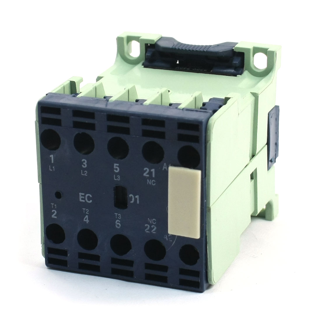 CJX2-1201E DIN Rail Mount AC Contactor 3 Pole One NC 220-240V Coil 12A