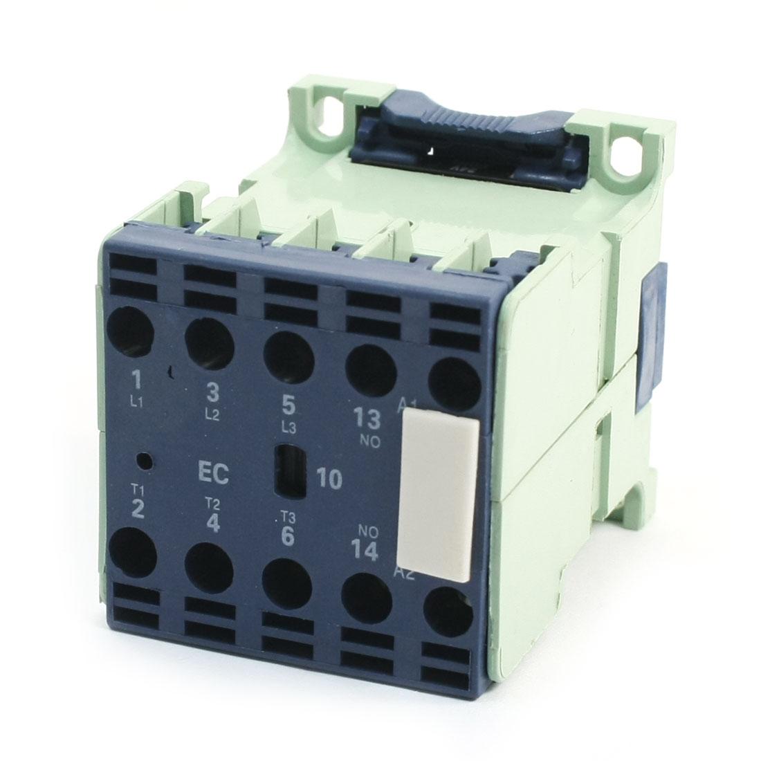 CJX2-0610E 660V 6A 3 Poles 3P 1NO DIN Rail AC Contactor 24V Coil
