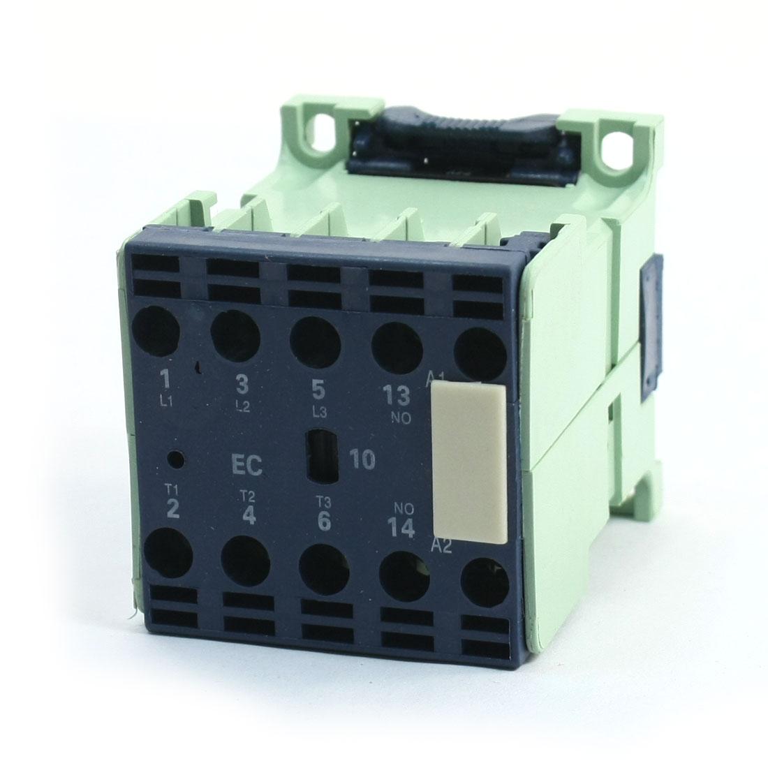 CJX2-0910E 3 Poles 3P 1NO 40mmx35mm DIN Rail AC Contactor 24V Coil