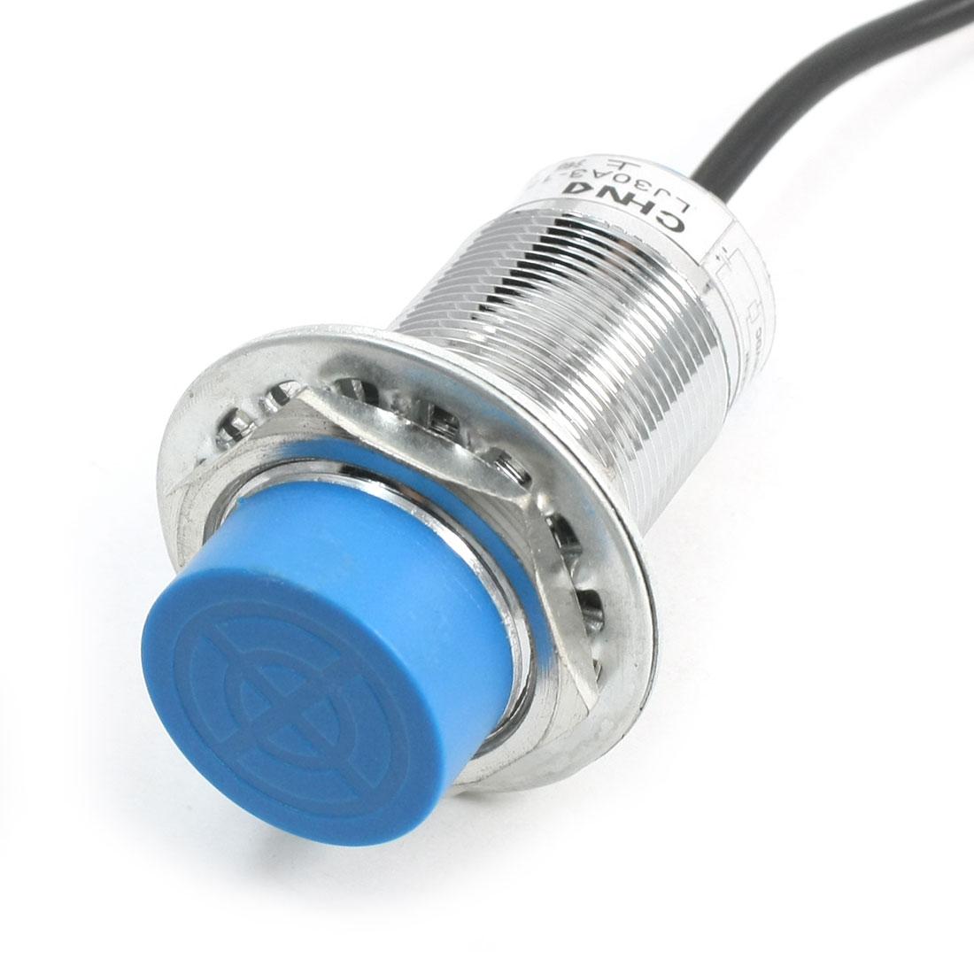 DC6-36V PNP NO 30mm Mount 15mm Inductive Proximity Sensor Switch LJ30A3-15-Z/BY