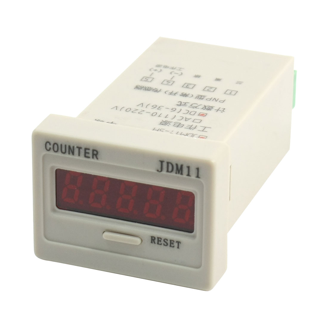 JDM11-5H Digit Display Electronic Counter Relay Control DC24V 0-99999
