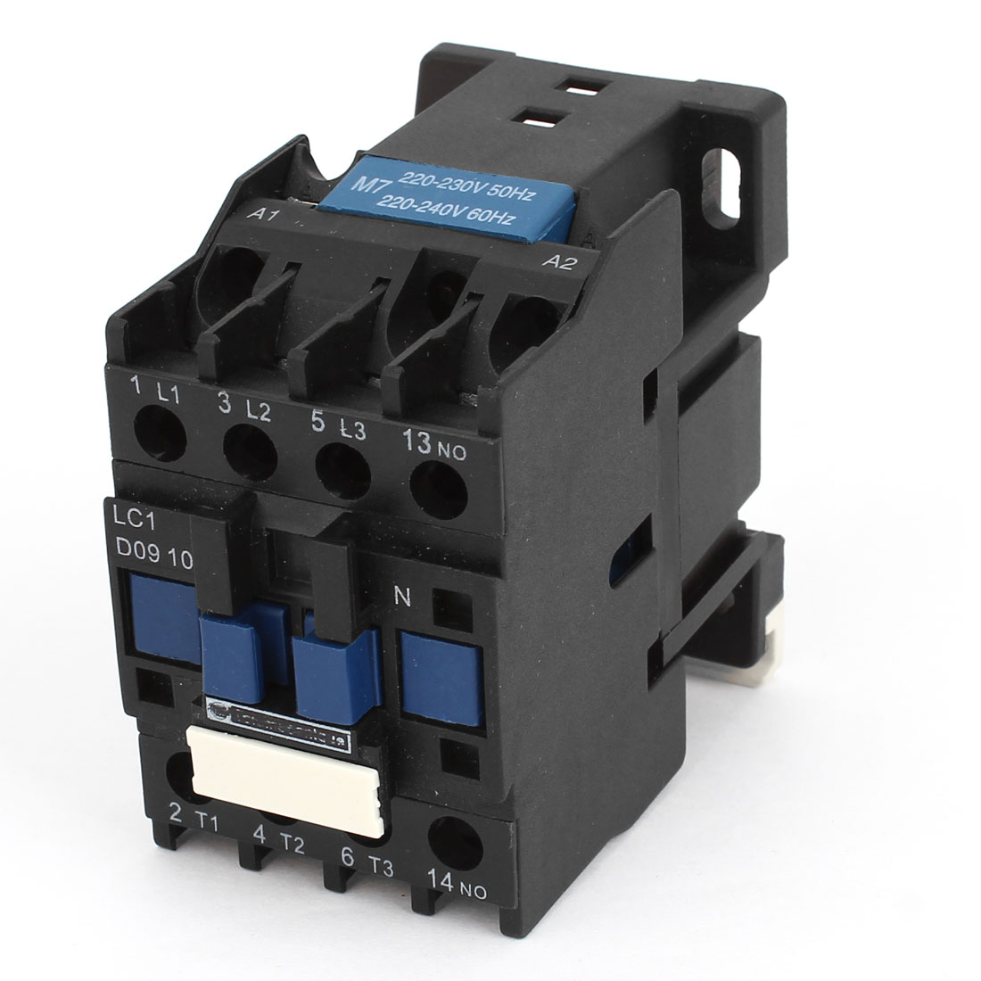LC1 D0910 35mm DIN Rail Mounting 3-Phase Electric Power AC Contactor