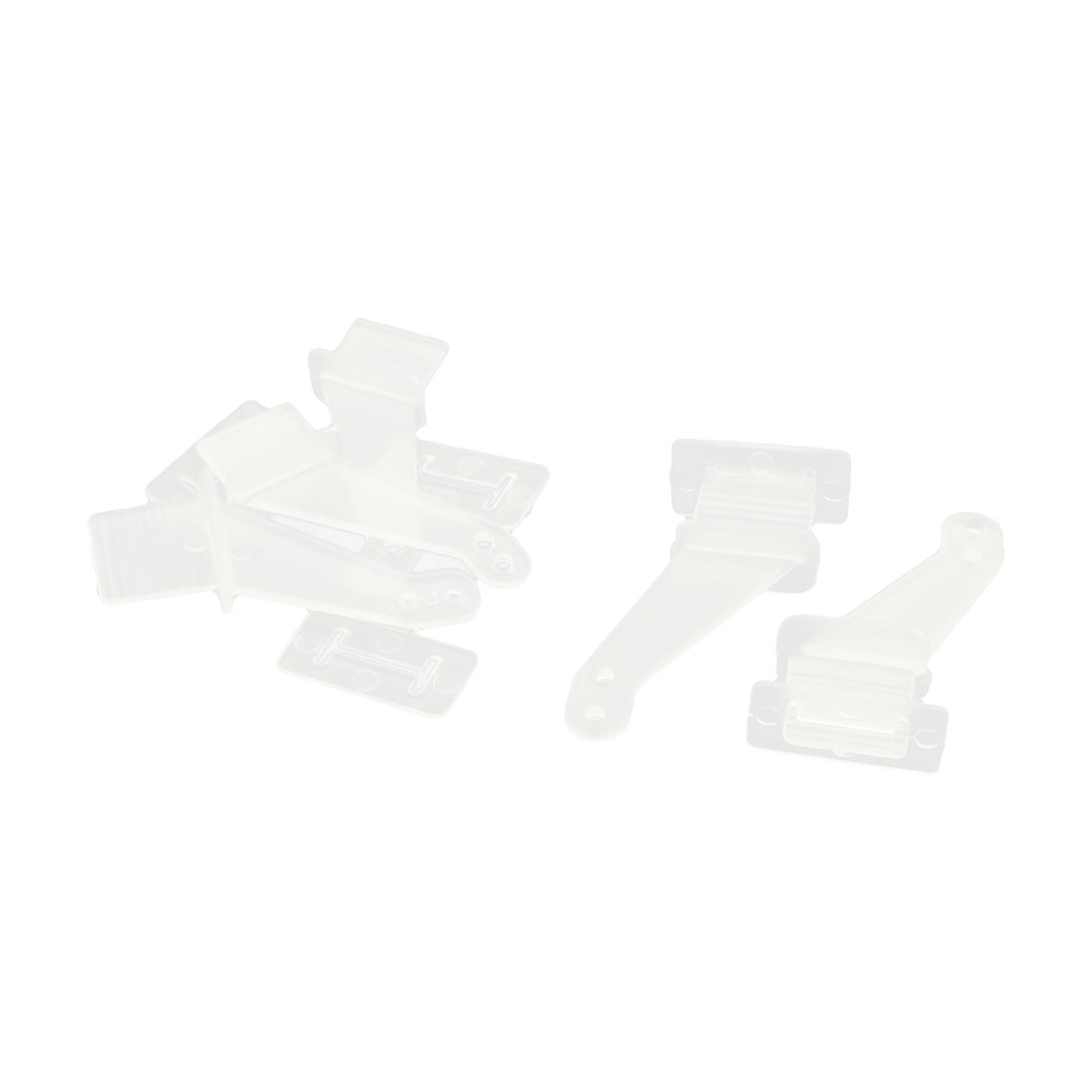 5pcs RC Remote Control Airplane Spare Parts 32x12x10mm Rudder Angle Clear