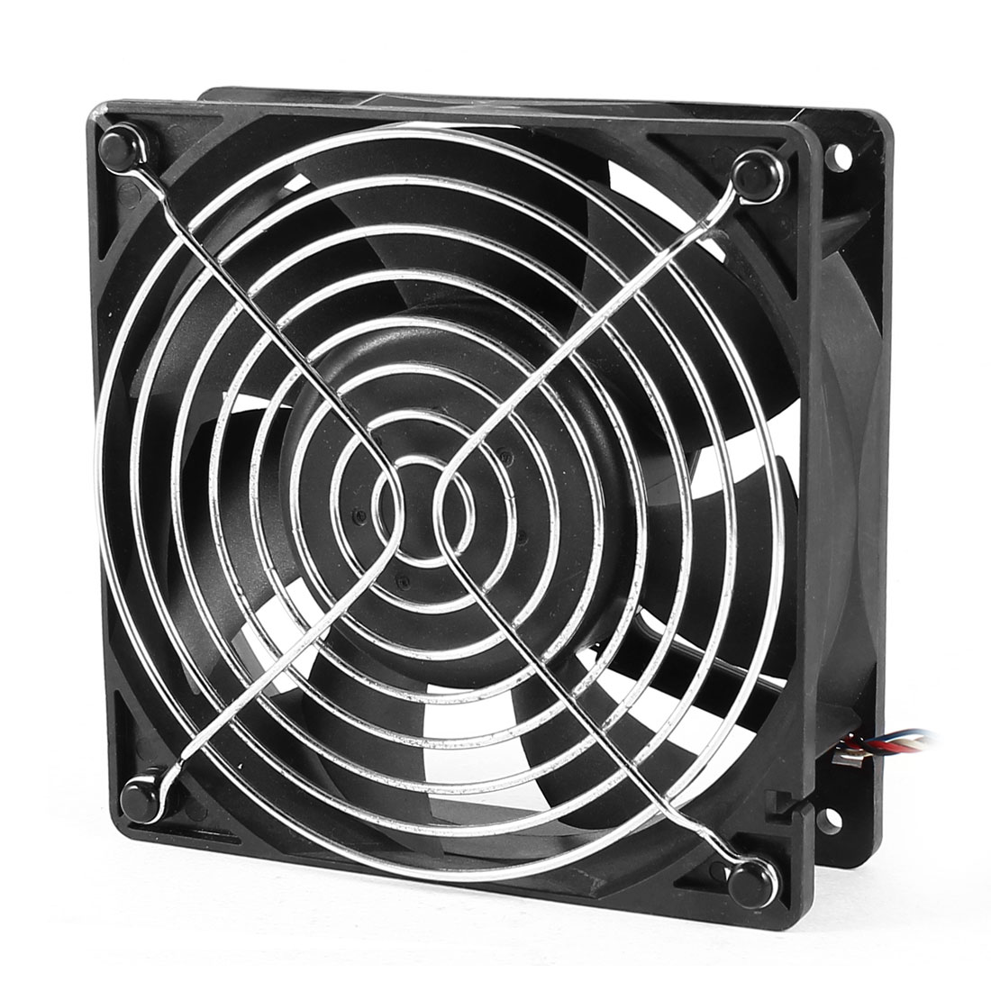 AFC1212DE 120mm x 38mm 5Pin 4 Wires PWM DC 12V Cooling Fan w Finger Guard
