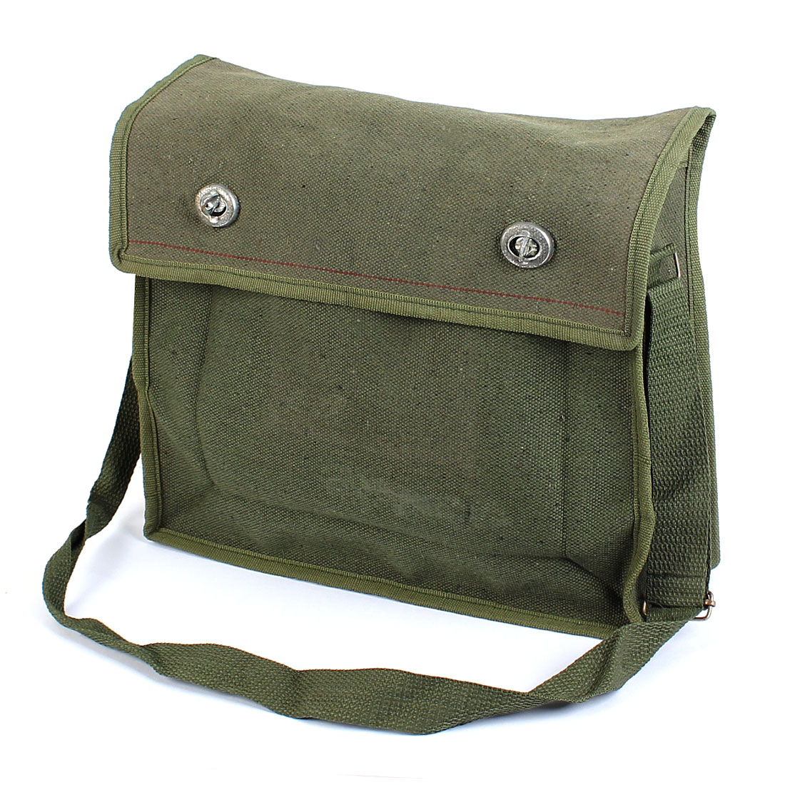 Army Green Turn Lock Buckle Electrician Technicians Tool Canvas Shoulder Bag