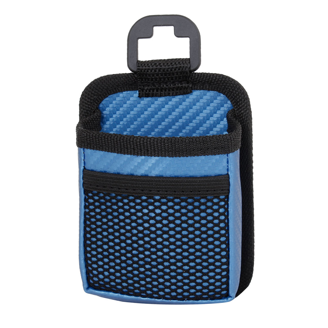 Van Cars Truck Blue Nylon Mesh Pattern Mobile Phone MP3 Holder Case Pouch