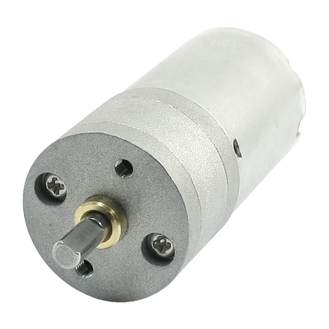 GA25-370 DC 24V 178RPM 2 Pole Solder Cylindrical Speed Reduce Gear Motor