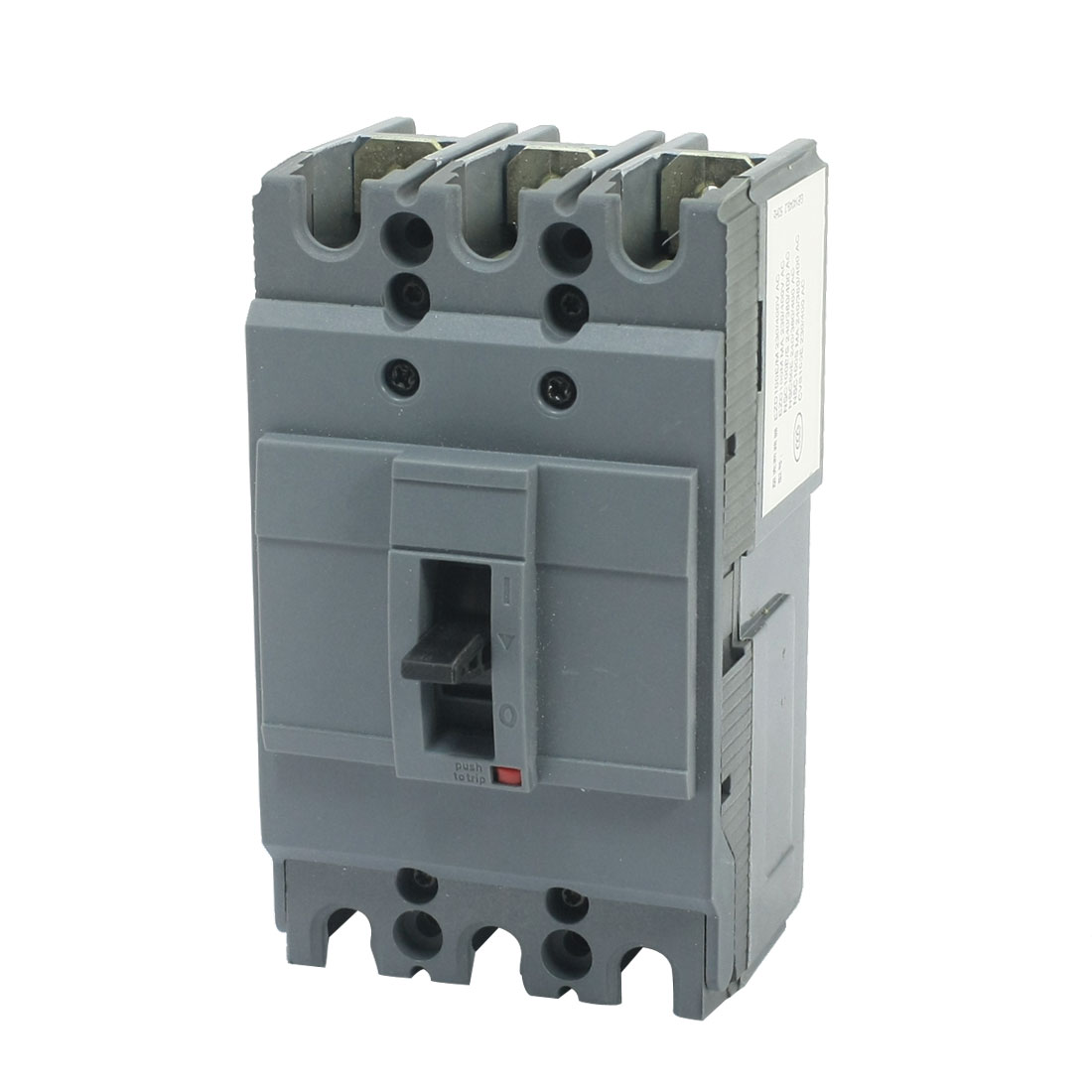 AC 220/230V 50/25KA 3 Pole 3P On-Off Switch Miniature Circuit Breaker