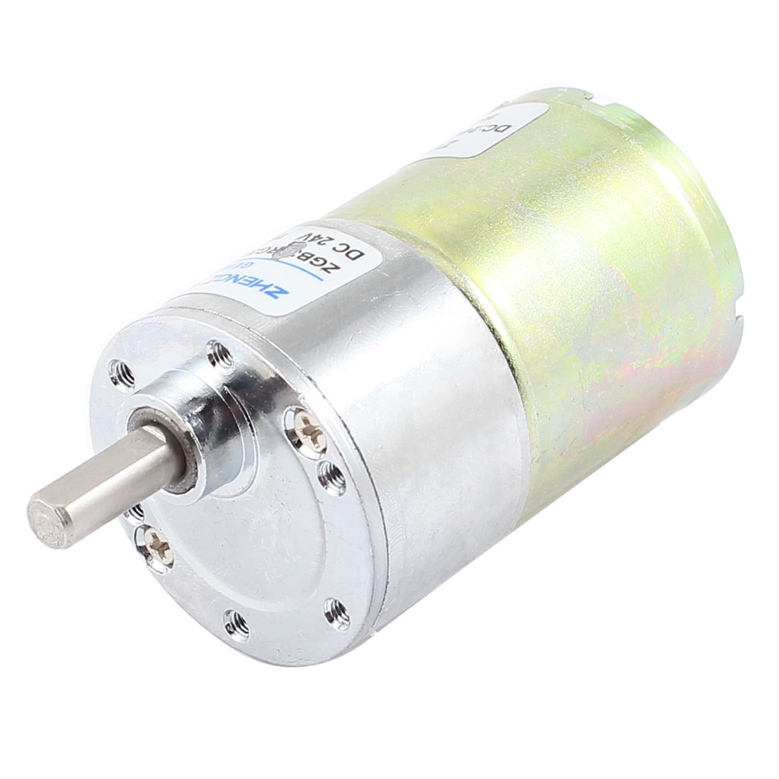 DC 24V 0.33A 37mm Dia Magnetic Gear Geared Box Motor 1000 RPM