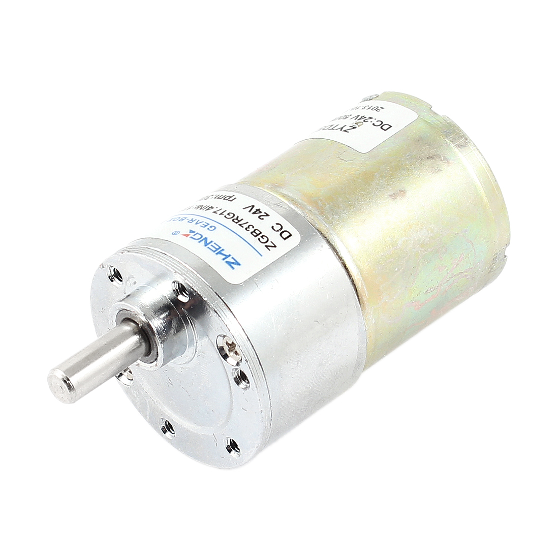 DC 24V 0.33A 37mm Dia Magnetic Gear Geared Box Motor 300 RPM