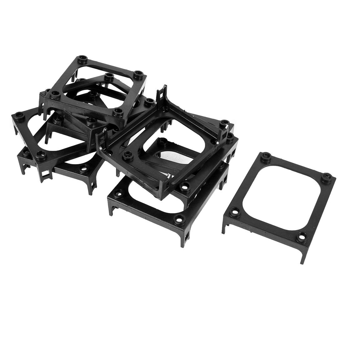10 Pieces Retention Bracket Module Holder Black for Intel P4 Socket 478 Heatsink