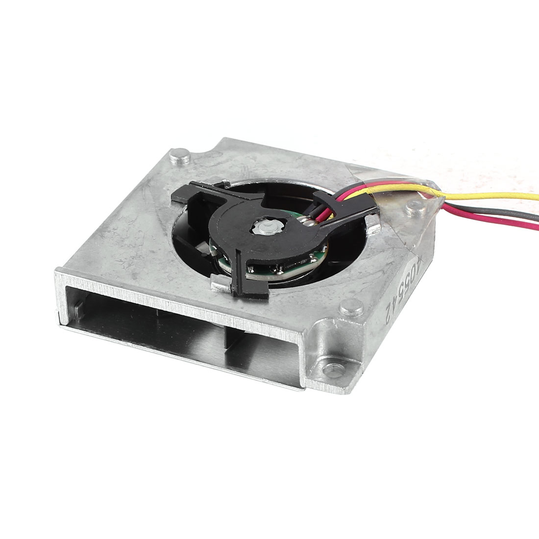 Black Silver Tone Aluminum Brushless VGA Heatsink Cooler Cooling Fan DC 5V