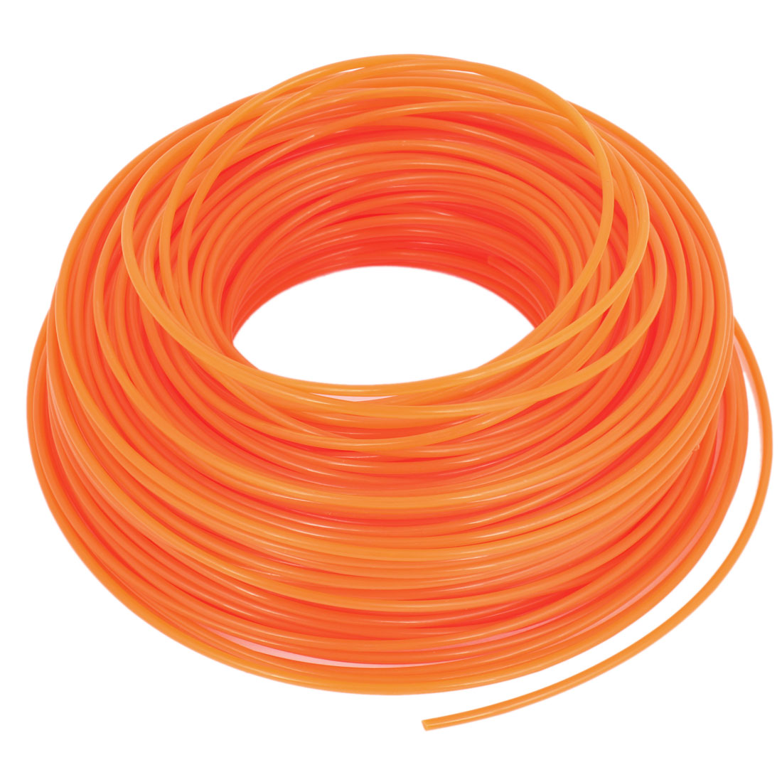 Park 220ft 67 Meters Round Orange Nylon Line for Grass Trimmer