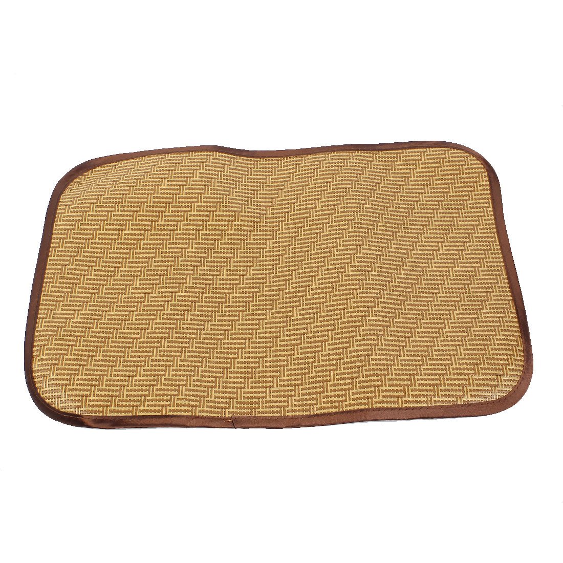 Picnic Patio 50cm x 35cm Rectangle Shape Pets Dog Puppy Cat Summer Sleeping Mat Pad Brown