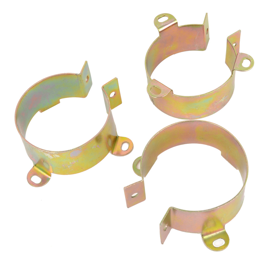 50mm-60mm Dia Exhaust Pipe Mounting Clamp for Drag Pipes Clamping 3PCS