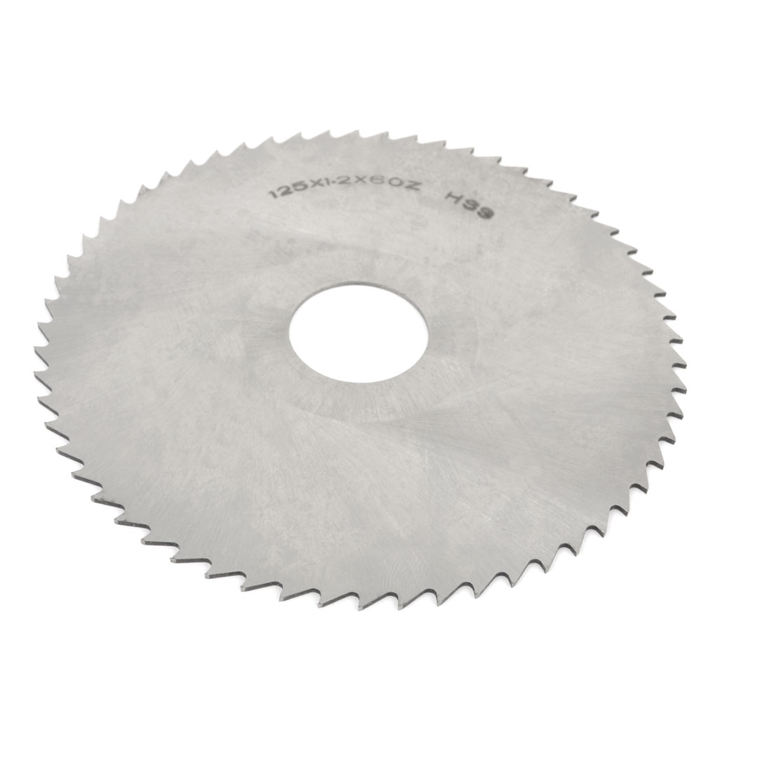 HSS Tooth Type 60T Round Cutting Disc Slitting Saw 125mm Dia