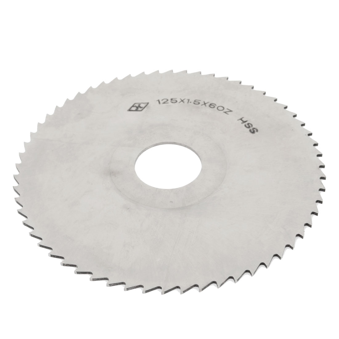 HSS 125mm Diameter 1.5mm Thk 27mm Arbor 60T Milling Slitting Saw Cutter
