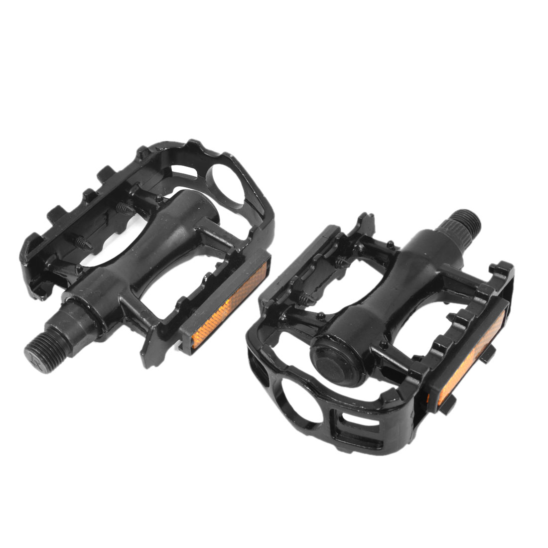 Mountain Road Bike Bicycle Black Aluminium Platform Pedals 2pcs