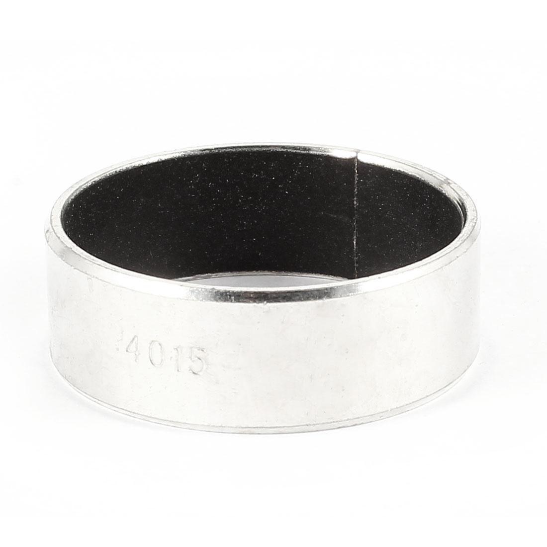 Silver Tone Self Lubricating Metal Plain Bearing Sleeve15mm x 44mm x 40mm