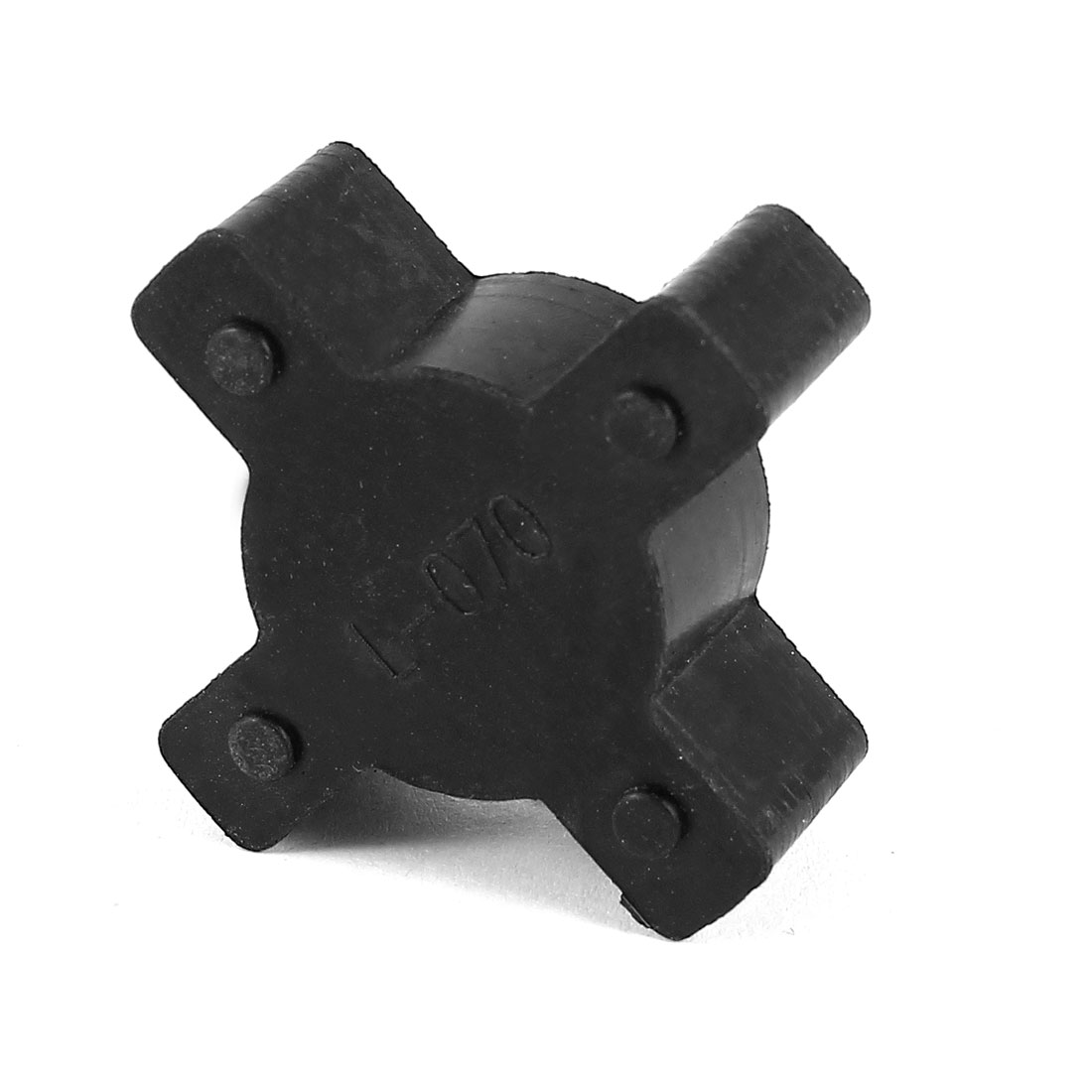 Black 35mm Diameter 4 Petals PU Coupling Shaft Center Spider Coupler Damper