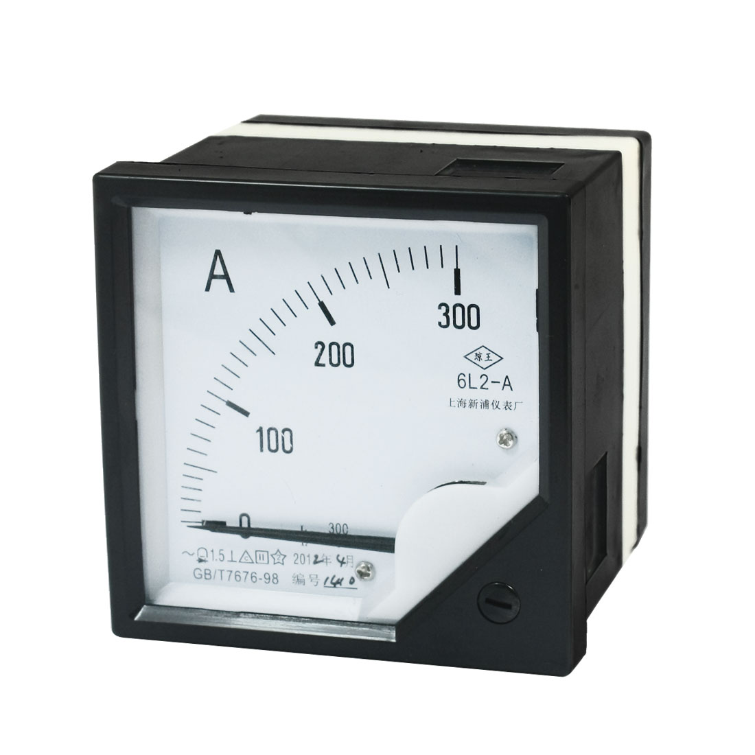 6L2-A AC 0 -300A Class 1.5 Accuracy Vertical Mounted Analog Ammeter Ampere Meter