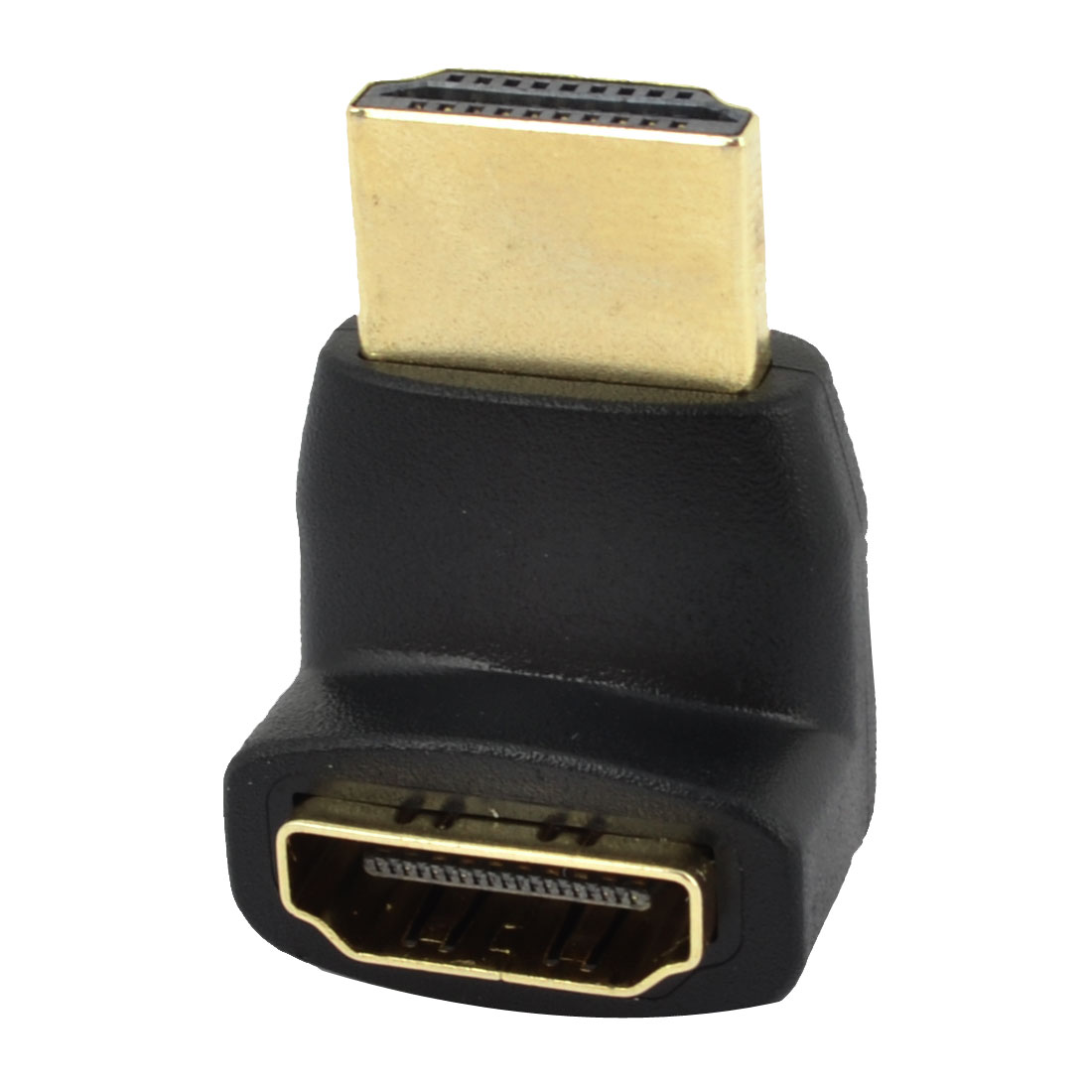 Metal Right Angled 90 Degree HDMI Female to Male F/M Adapter Connector 3cm Long