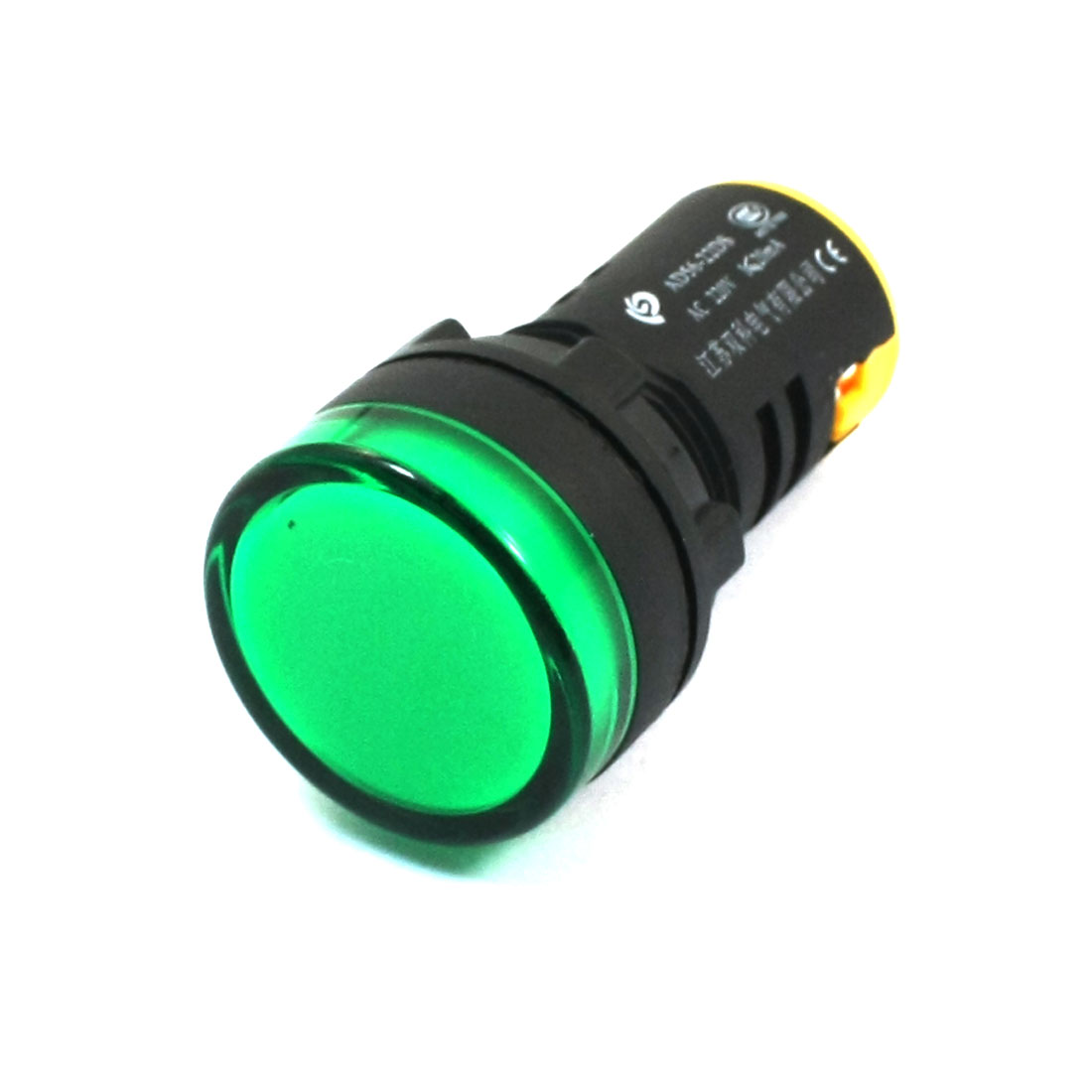 20mA Industrial Green Light Signal Indicator Lamp AD56-22D AC 220V