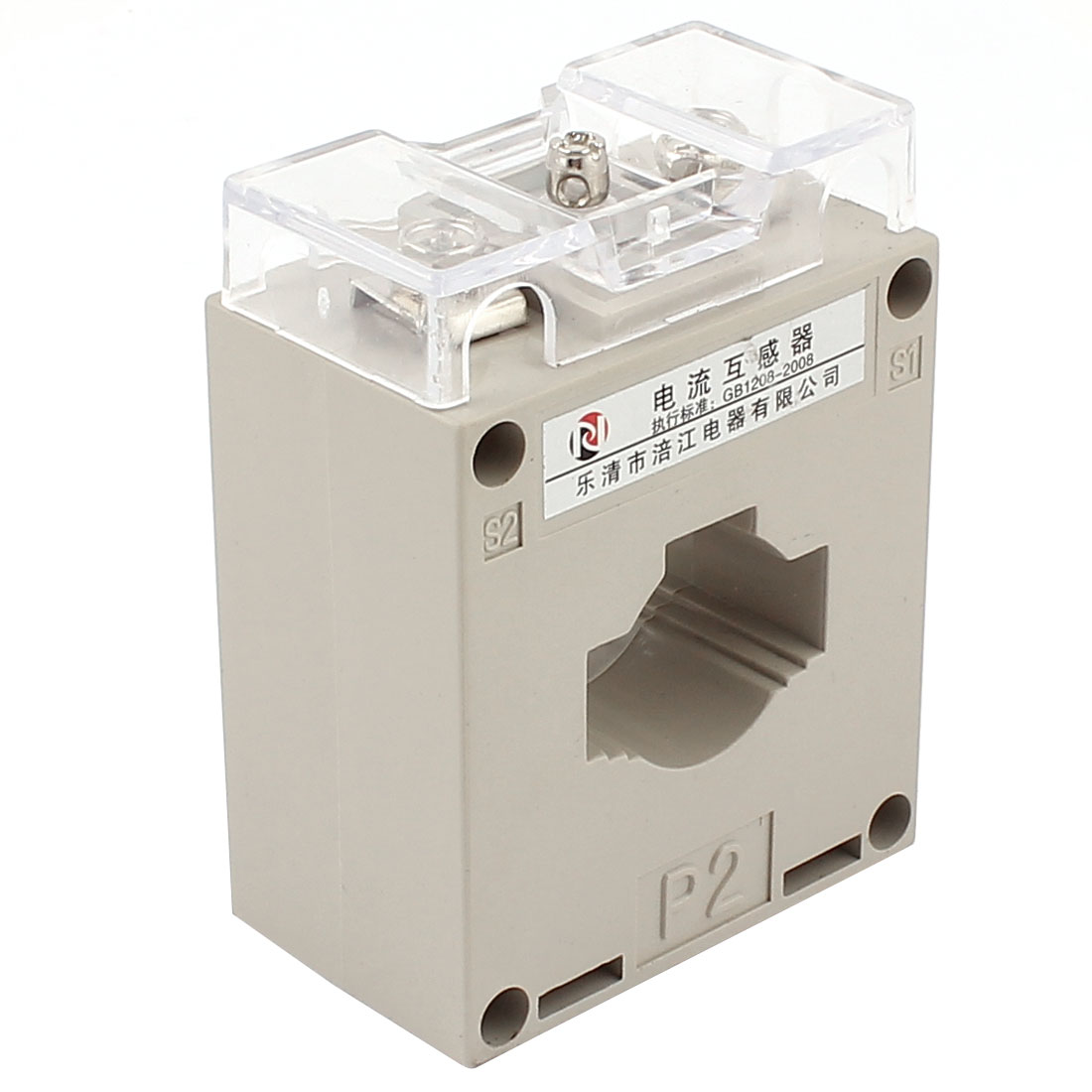BH-0.66CT Ratio 50/5 1T Conductor Through Current Transformer Sensor