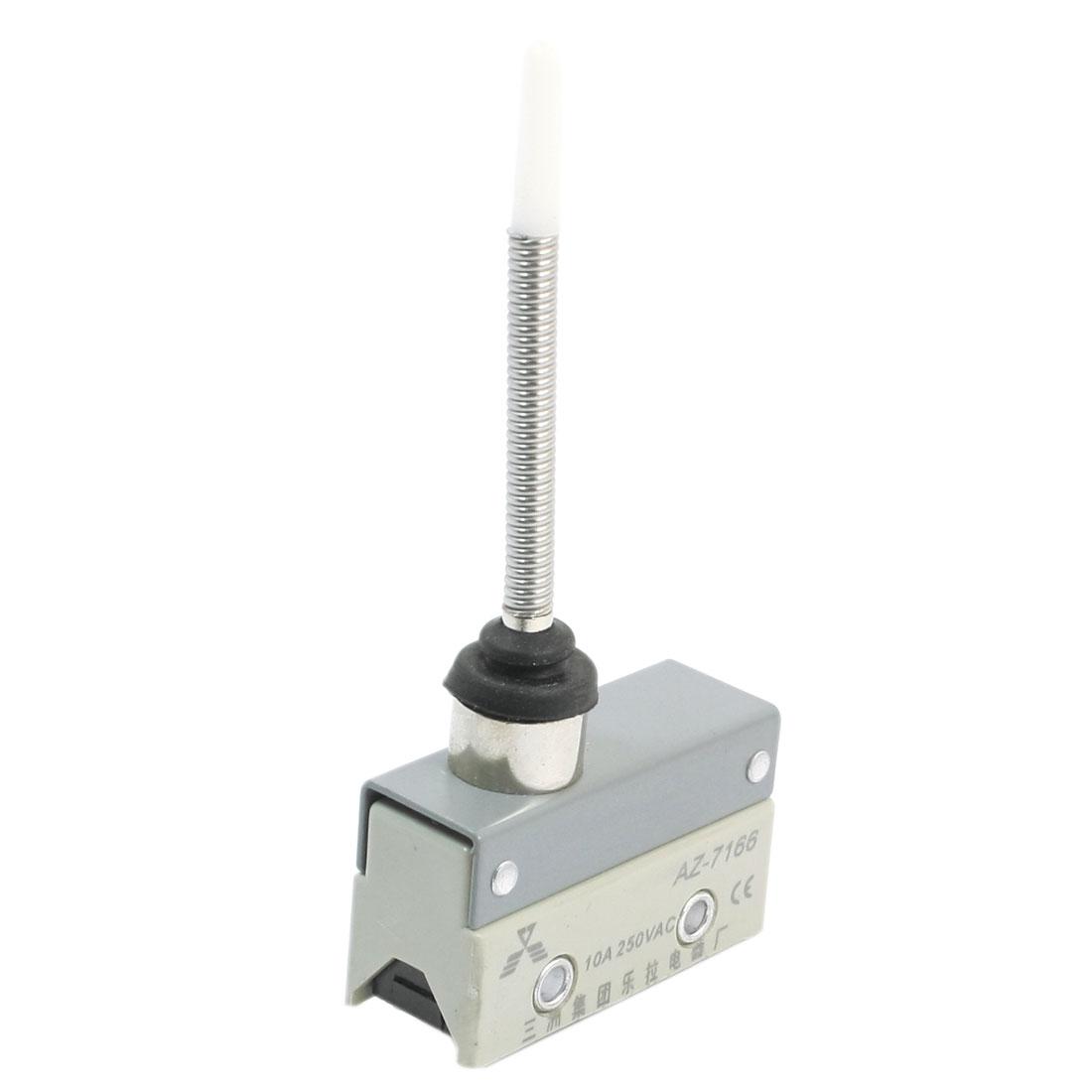 SPDT 3 Terminal Wobble Stick Momentary Limit Switch 10A/AC 250V AZ-7166