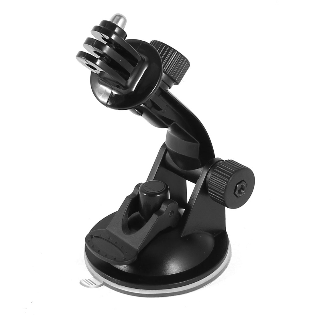 Car Windshield Vacuum Suction Cup Mount + Tripod Adapter Black for GoPro HERO 1 2 3