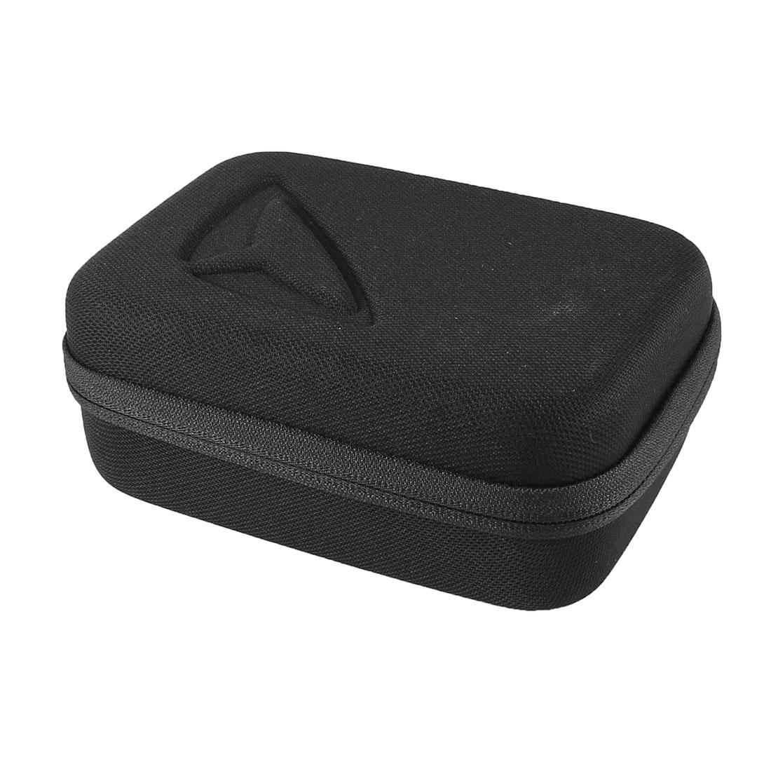 Zipper Closure Protective Anti-Shock Carry Carrying Case EVA Storage Bag Black for Digital DSLR SLR Camara