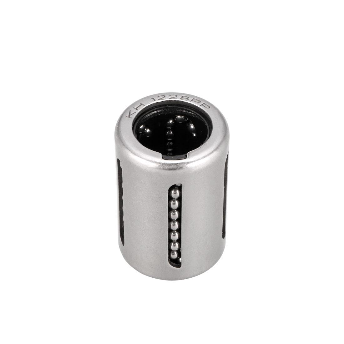 KH1228PP 12mm Shaft Dia 12mm x 19mm x 28mm Linear Motion Ball Bearing