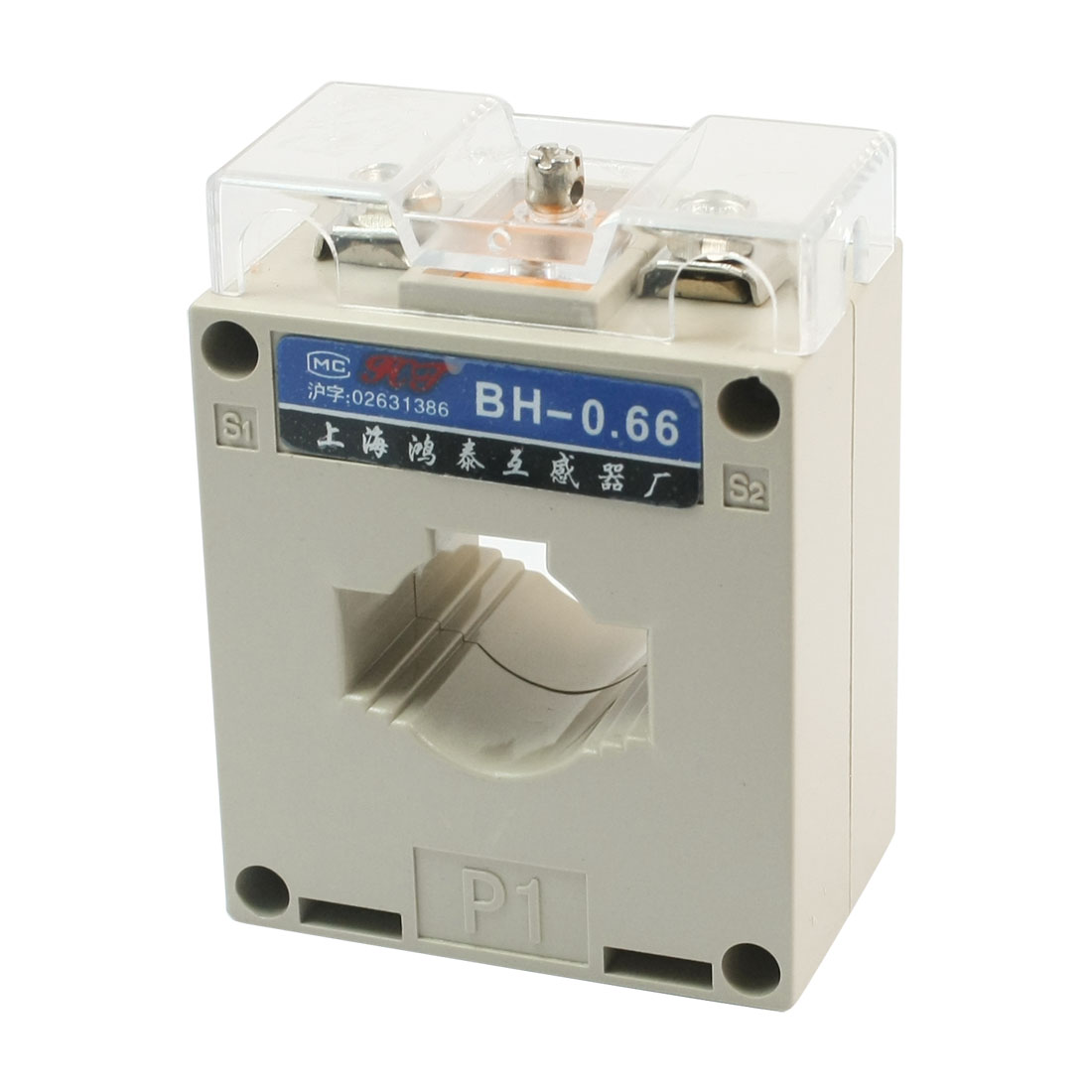 BH-0.66 0.5 Class 1T 100/5 Gray Electric Current Transformer 660V