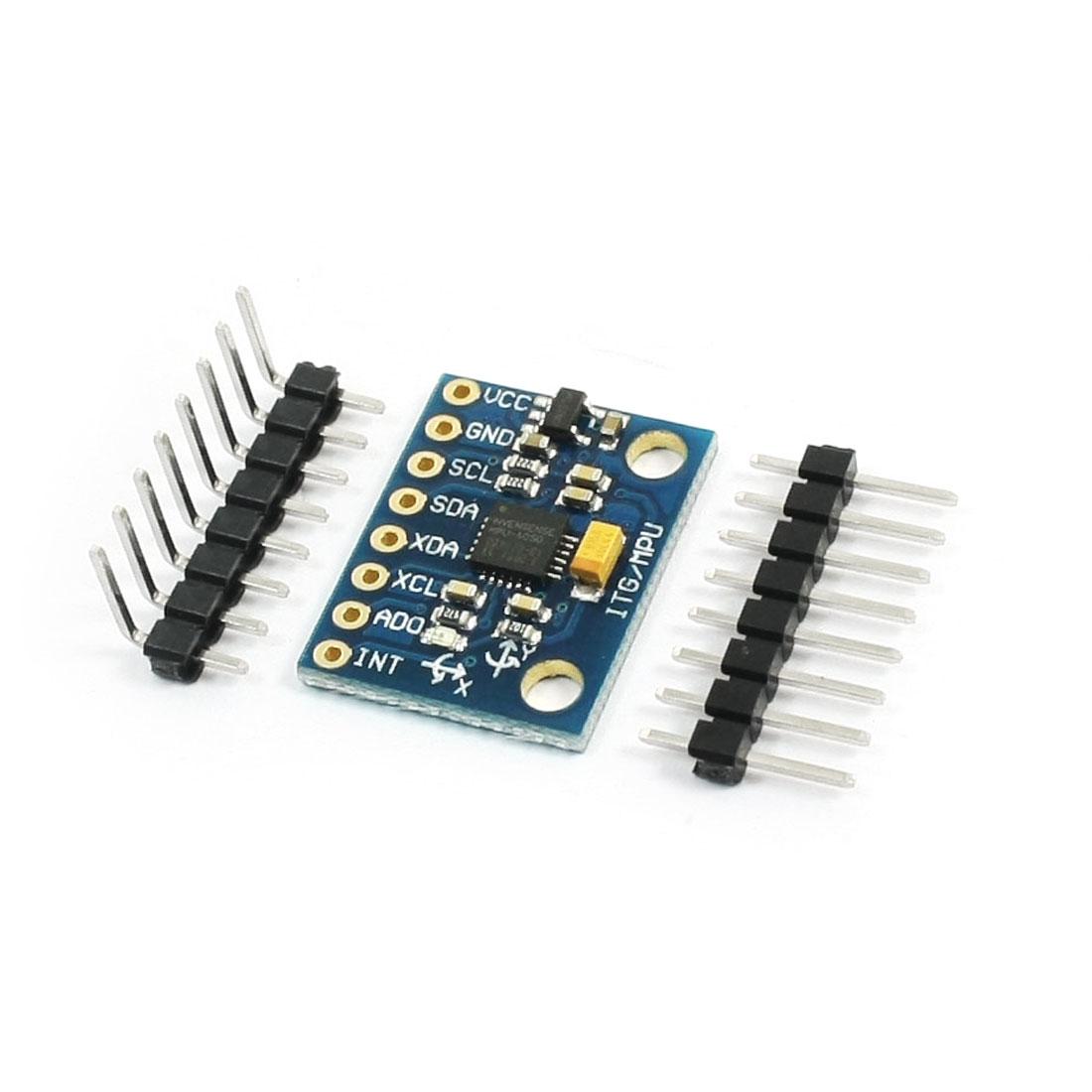 GY-521 MPU-6050 Gyro Module Triaxial Accelerometer 3-5V