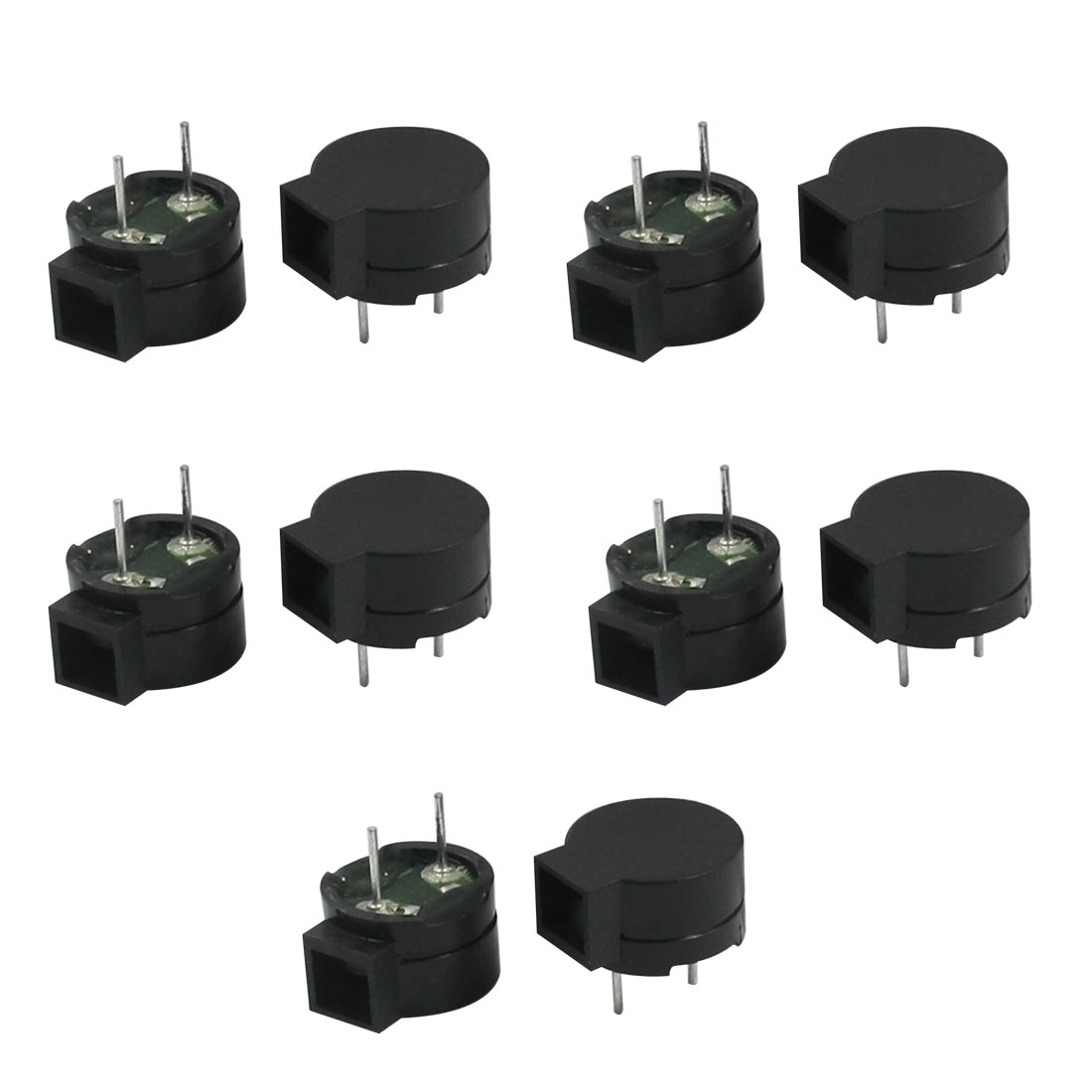 10PCS 42 Ohm Two Terminals Passive 85dB Side Sound Electronic Buzzer