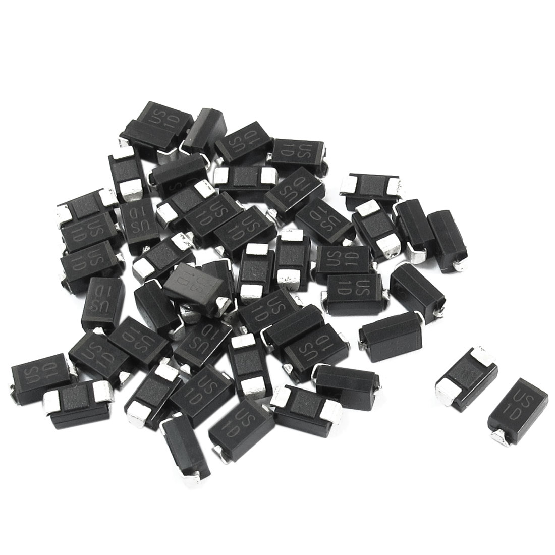 Electric SMD DO-214AC 200V 1A High Efficiency Rectifier Diode US1D 50pcs