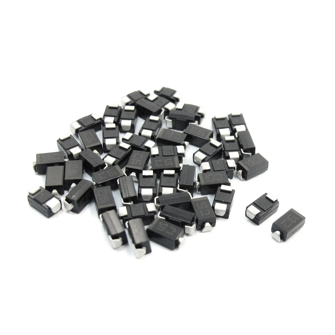 Electric SMD DO-214AC 600V 1A High Efficiency Rectifier Diode US1J 50pcs