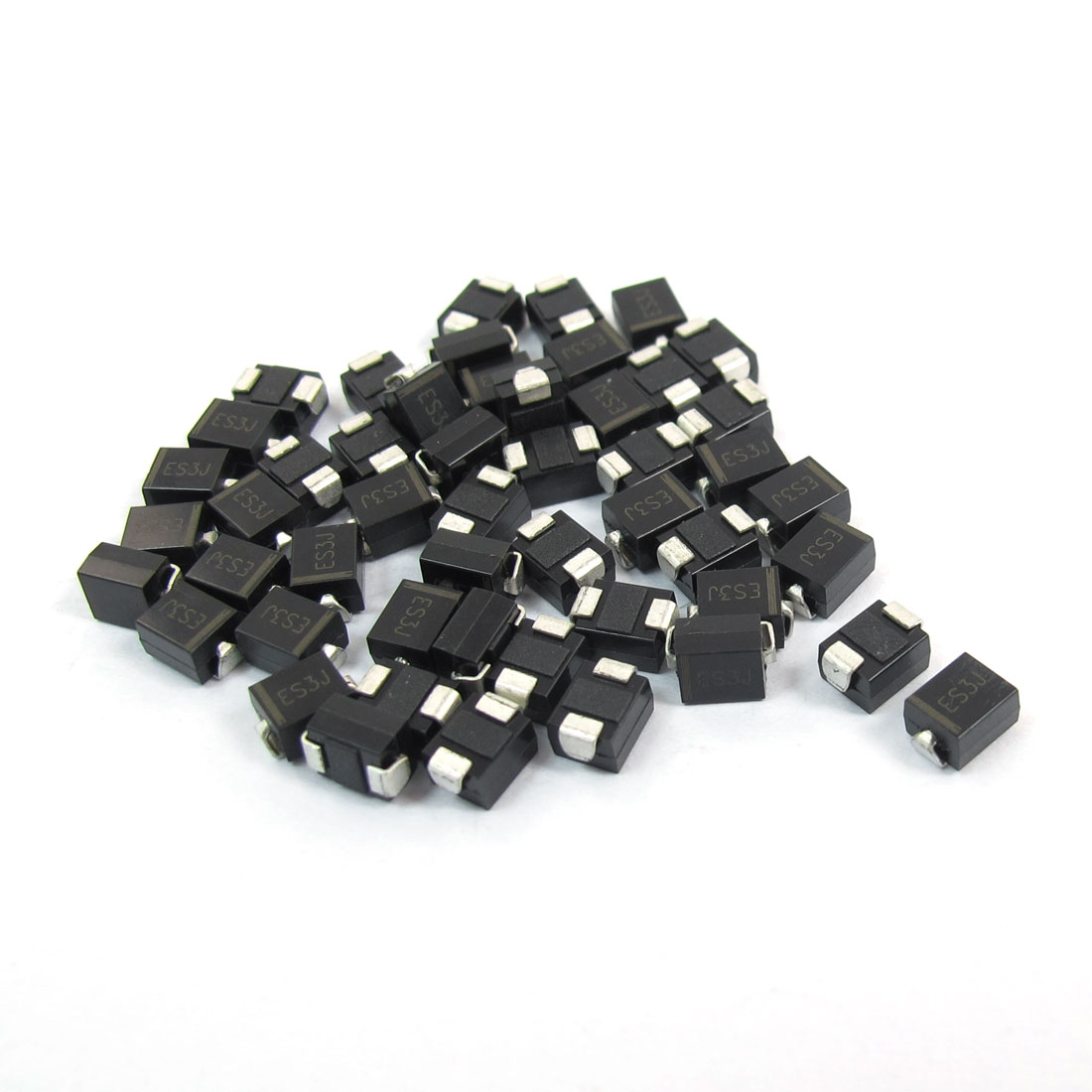Electric SMD DO-214AA 600V 3A Ultra Fast Rectifier Diode ES3J 50pcs