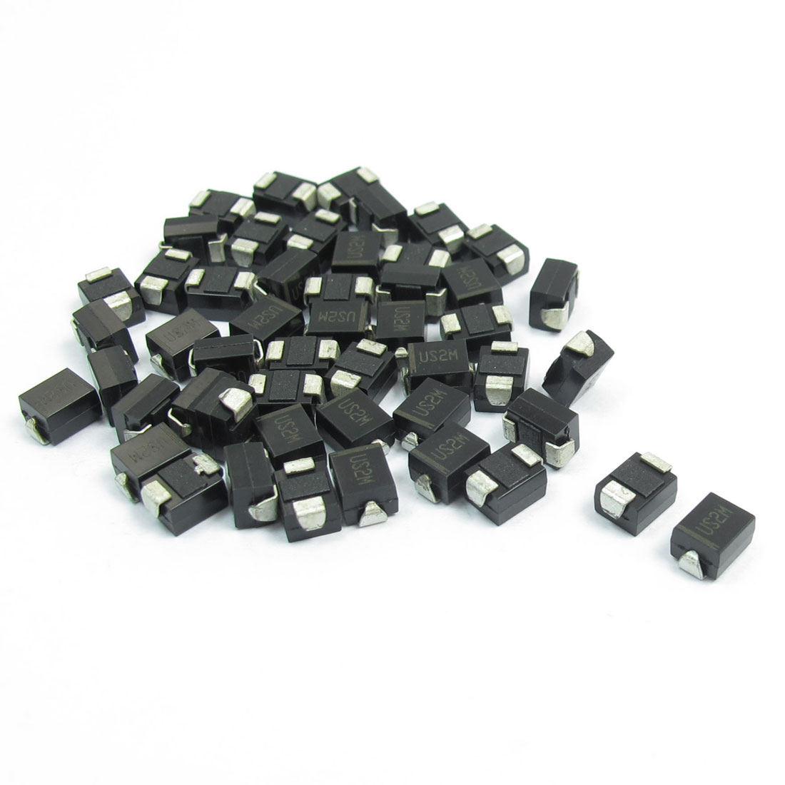 Electric SMD DO-214AA 100V 2A High Efficiency Rectifier Diode US2M 50pcs
