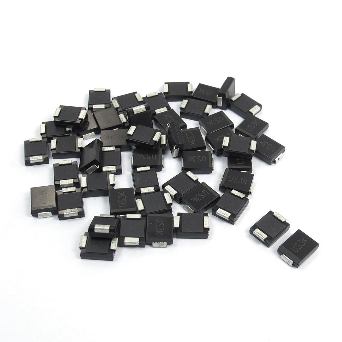 Electric SMD DO-214AB 800V 3A High Efficiency Rectifier Diode US3K-C 50pcs