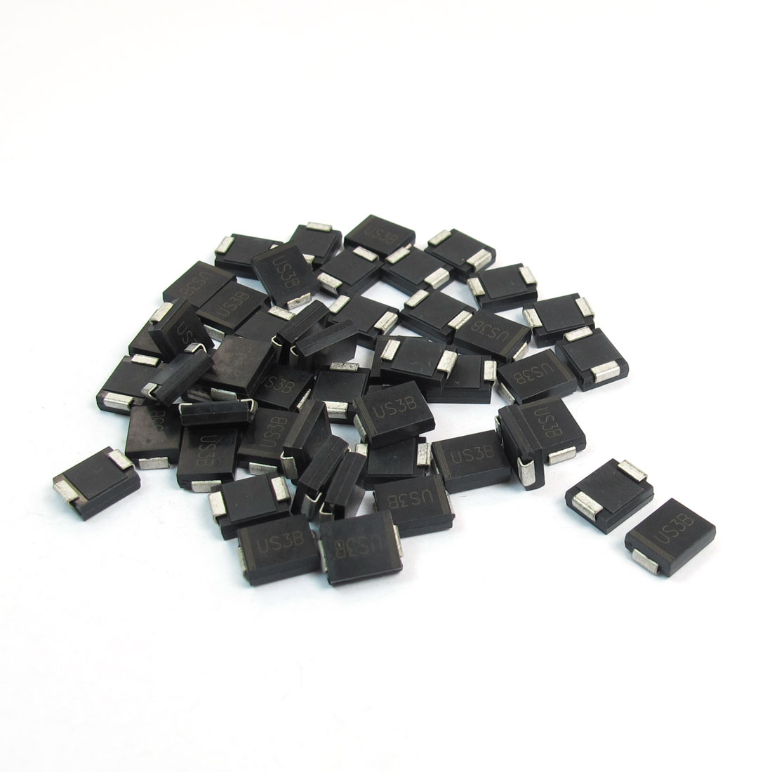 DO-214AB Package 100V 3A SMT SMD High Efficiency Rectifier Diode US3B-C 50pcs