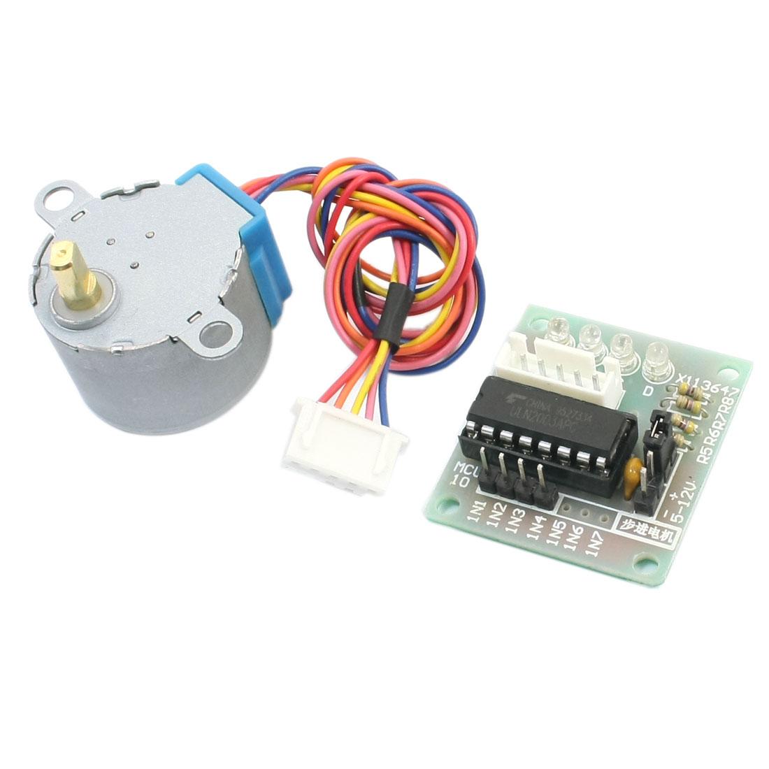 MCU ULN2003APG Driver Module Controller Board w Stepper Motor