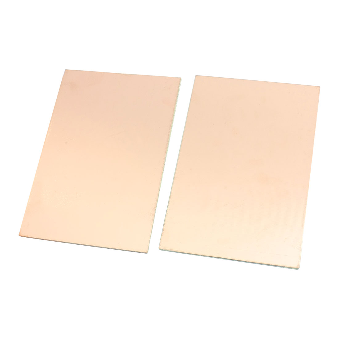 """2Pcs 6"""" x 4"""" Copper Foil Cover Coated Double Side PCB Printed Circuit Board"""