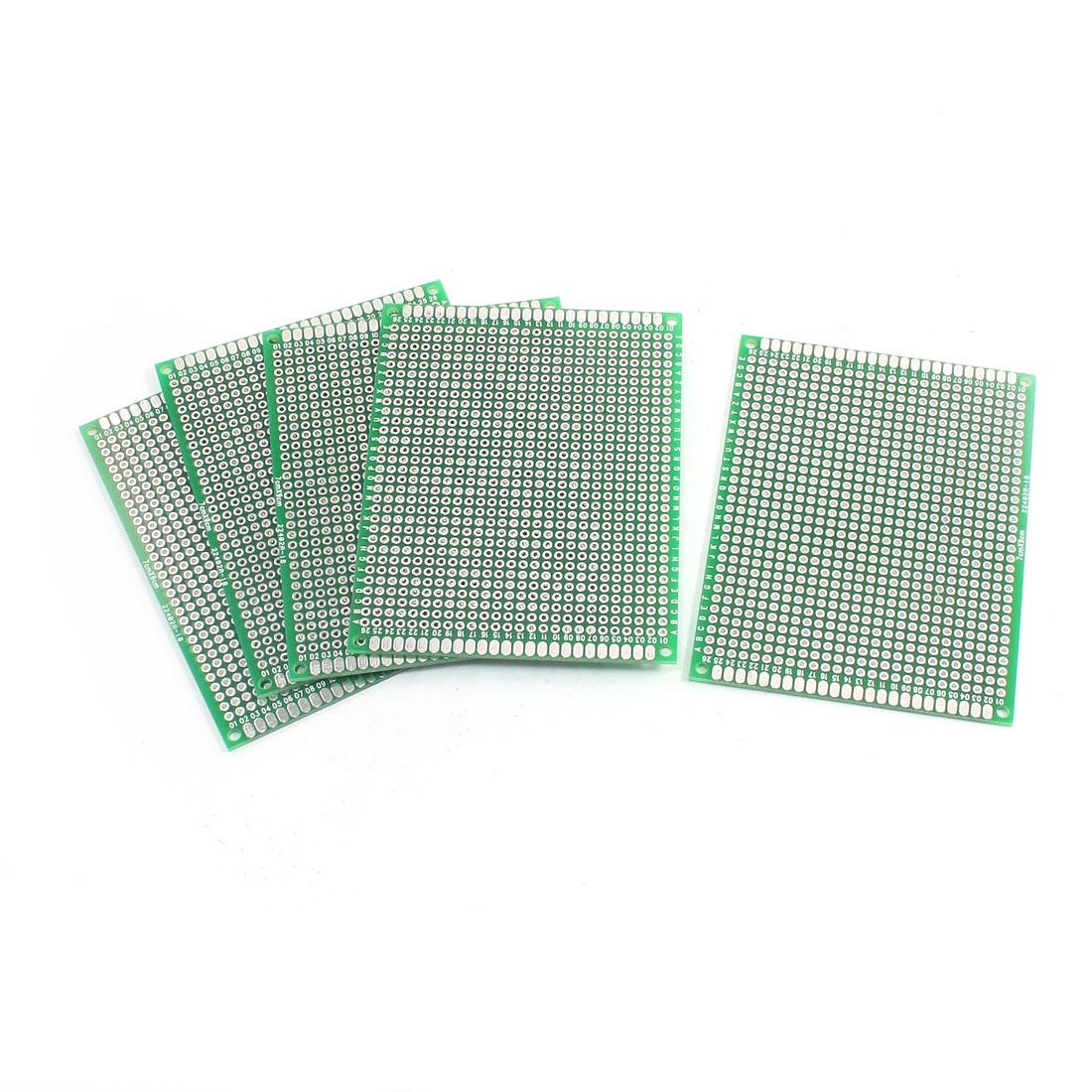 5Pcs DIY Universal Dual Sided PCB Printed Circuit Board 7cm x 9cm