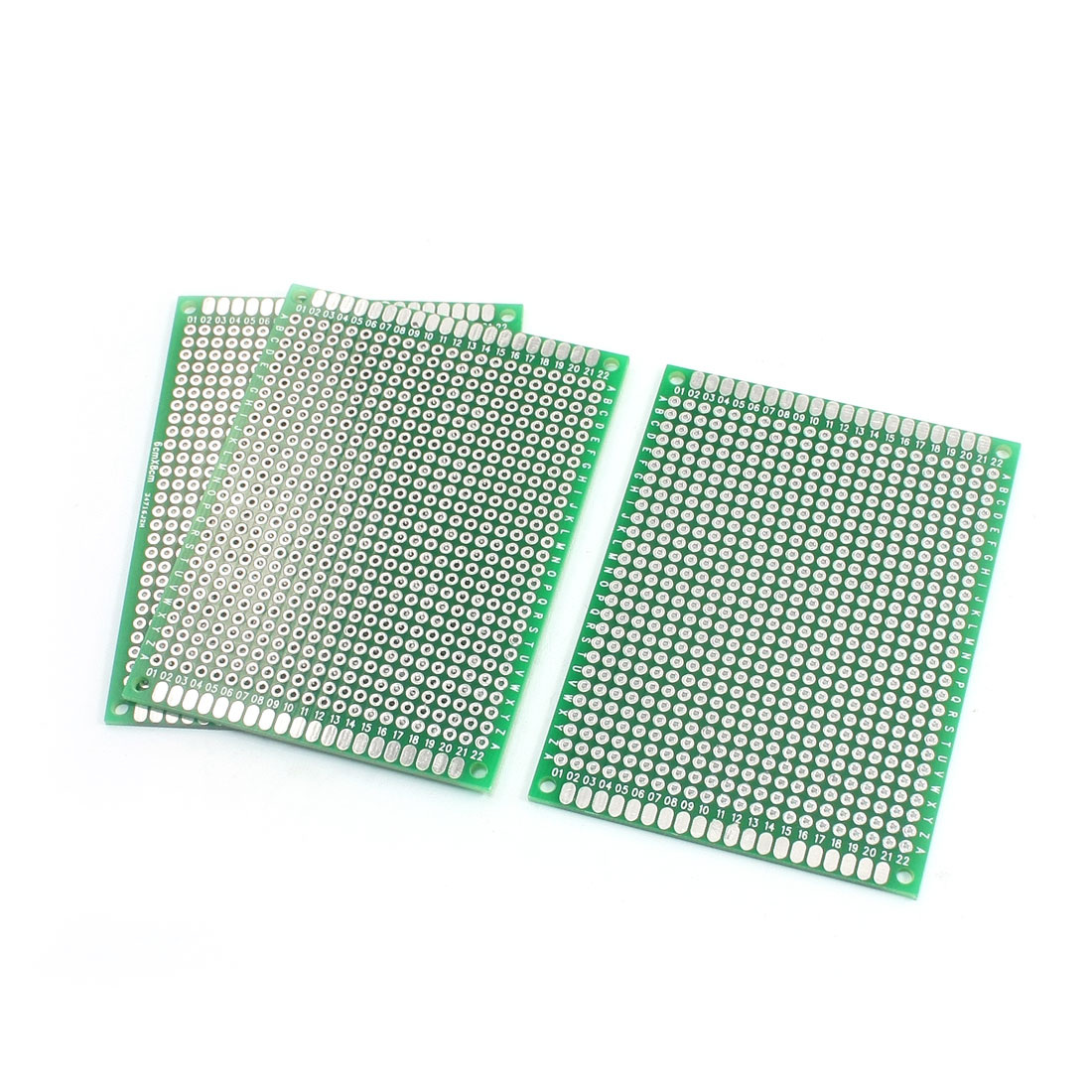 3Pcs Electronic DIY Double Sided PCB Printed Circuit Board 6cm x 8cm