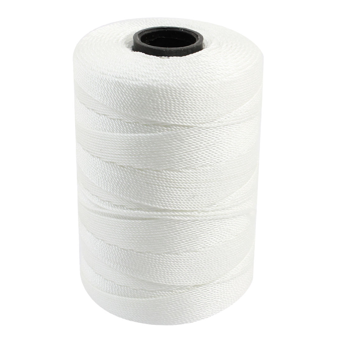 1mm Cord Dia Twisted Three Strand Nylon Sewing Rope String White