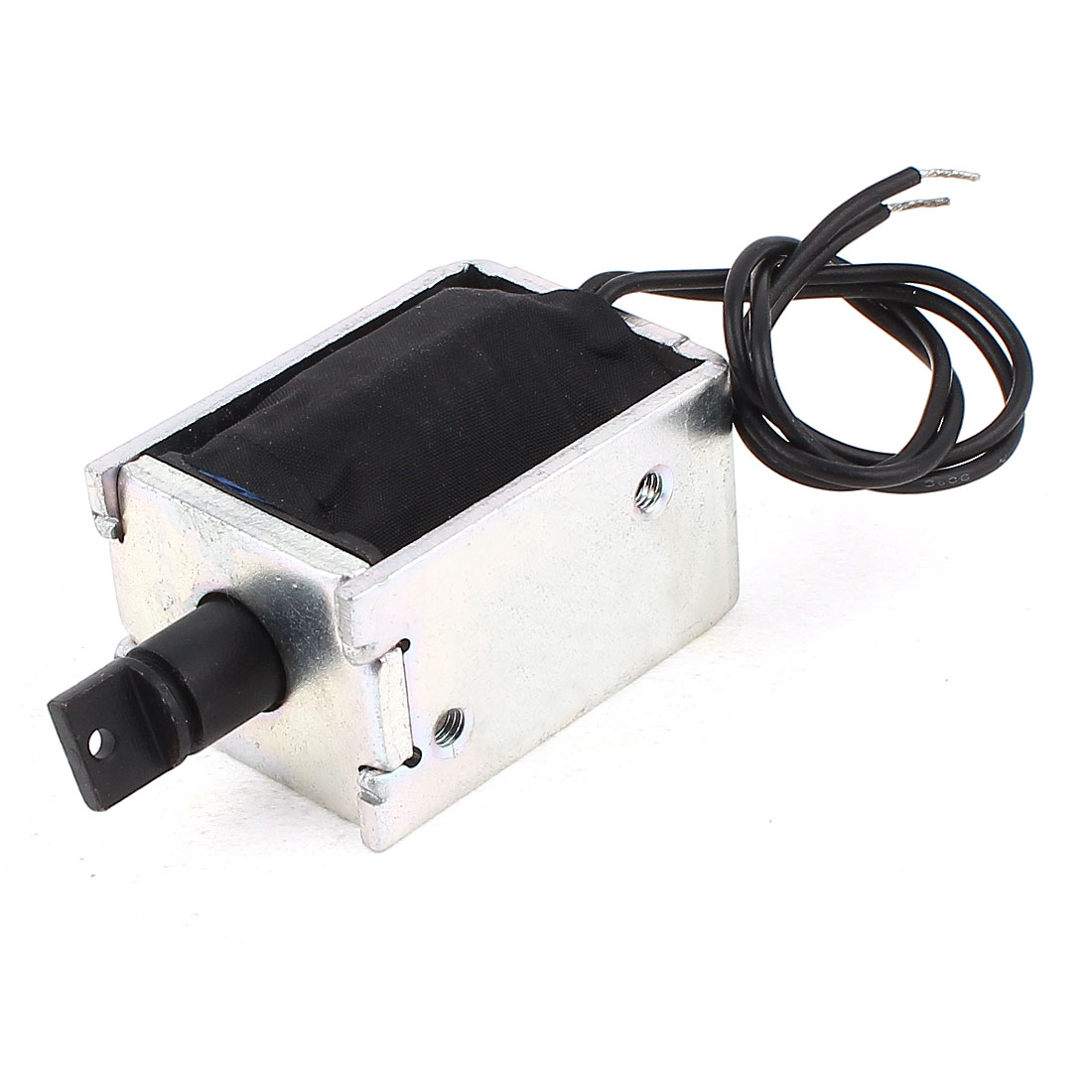 DC12V 0.6A 2-Wire Connect Open Frame Pull Type Electric Holding Magnet Lifting Solenoid Electromagnet 1mm 500g 11mm 100g