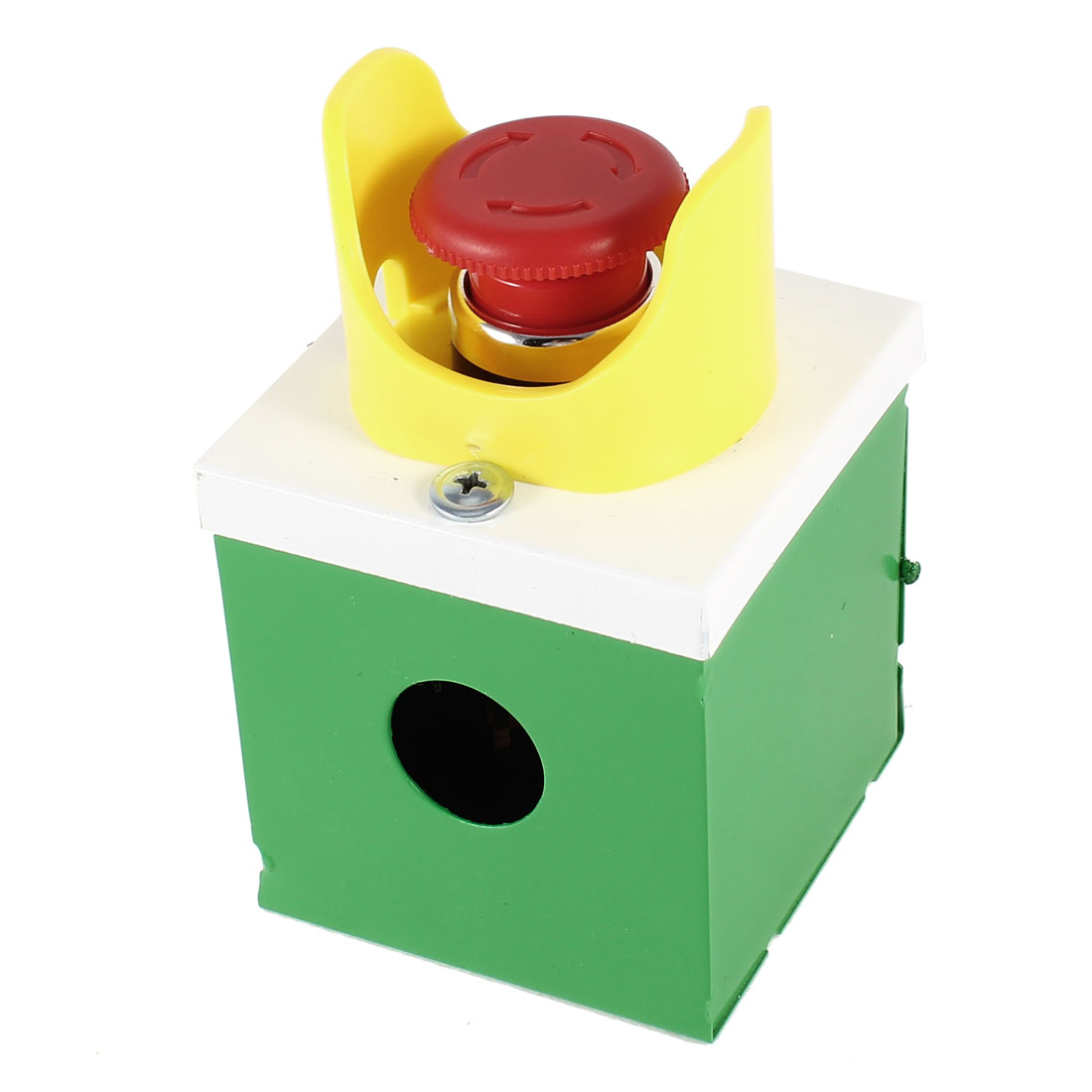 Ui 380V 10A Red Mushroom Head Self Locking Push Button Switch Station