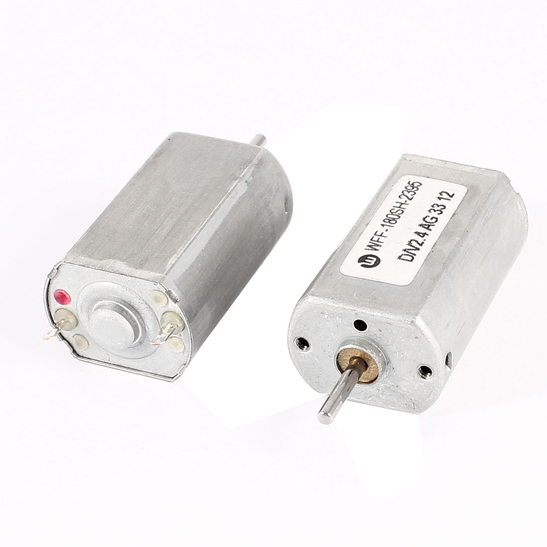 2 Pcs 6V 0.1A 11000RPM Powerful High Torque DC Gear Box Motor Replacement