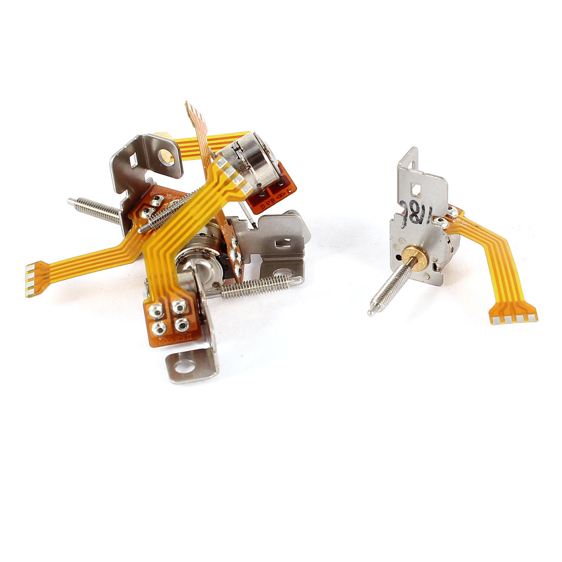 DC 3-5V 1-1500RPM 6mm Diameter Step Stepper Stepping Motor 5 Pcs